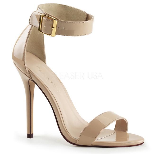 AMUSE-10 sandalias de mujer beige talla 37 - 38