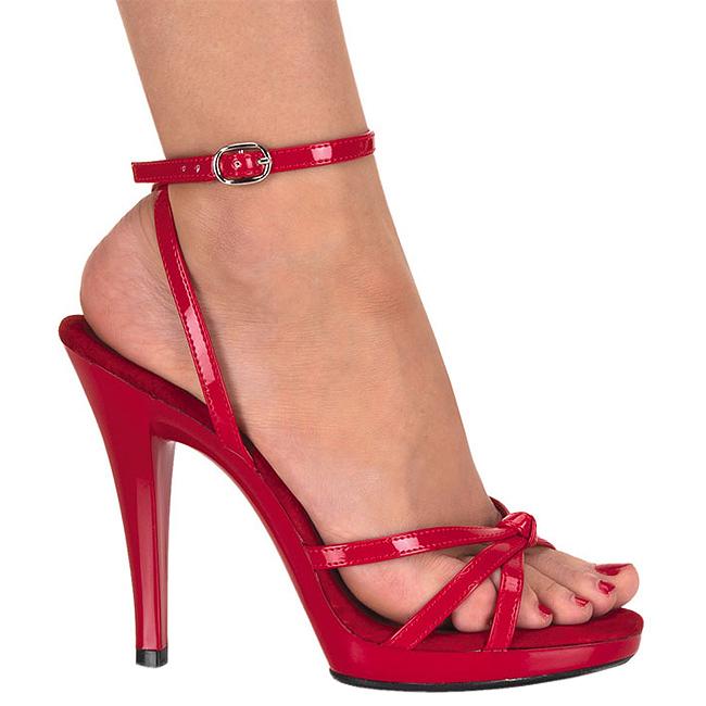 FLAIR-436 sandalias de mujer rojo talla 35 - 36 b17a6750593d